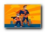 《英雄梦》公益艺术设计宽屏壁纸