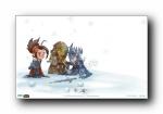 魔兽世界圣诞壁纸