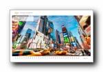 《世界名胜建筑》2014年风光风景宽屏月历年历