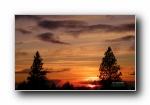 Sierra日落 夕阳黄昏宽屏壁纸