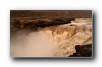 中国黄河壶口瀑布宽屏壁纸
