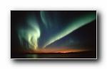 极光,南极光,北极光宽屏壁纸