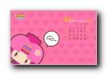 《昆塔》2014年月历年历 可爱动漫宽屏壁纸