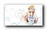 亚丝娜《刀剑神域》动漫女孩宽屏壁纸