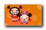 《PUCCA料理屋》可爱卡通中国娃娃宽屏壁纸