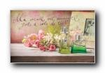 世界名牌香水宽屏壁纸