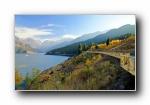 中国新疆天山天池 风光风景宽屏壁纸