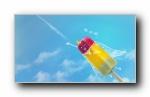 夏天飞机雪条(多分辨率)