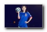 2014年巴西世界杯32强队足球宝贝美女模特宽屏壁纸