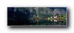 《�W洲�L光(全景)》3840x1200