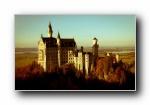 德国新天鹅城堡 宽屏壁纸