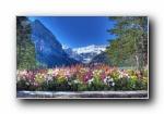 加拿大班夫国家公园 宽屏壁纸