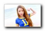 裴紫绮 排球宝贝 沙滩性感外拍 宽屏壁纸