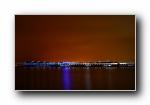 日本神奈川�M�I夜景��屏壁�