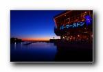 日本神奈川横滨夜景宽屏壁纸