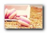 马卡龙(Macarons,玛卡龙、杏仁小圆饼)