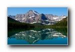 浮光掠影 平静的湖面宽屏壁纸