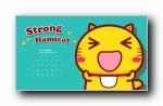 2015年哈咪猫月历壁纸(多分辨率)