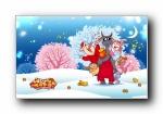 福星八戒 2015年 可爱卡通宽屏壁纸