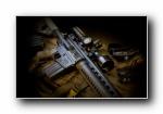 M4卡宾枪(M4突击步枪)宽屏壁纸