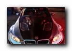 宝马M3 改装车美女模特宽屏壁纸