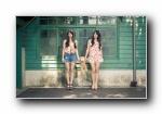 萱野可芬 萱野可芳 2sweet 双胞胎美女明星宽屏壁纸