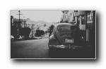 黑白照摄影宽屏壁纸