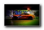 福特野马Mustang万圣节改装车宽屏壁纸