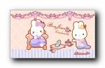 RABBYCC(卡罗)童话世界灰姑娘可爱卡通宽屏壁纸