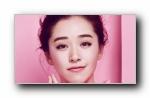 阚清子 粉红简约迷人宽屏壁纸