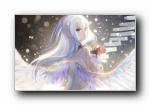 《Angel Beats!》立华奏宽屏壁纸