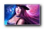 magicnaanavi美女CG艺术设计宽屏壁纸