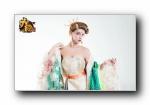 《大国》游戏美女模特代言宽屏壁纸
