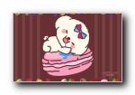 parffie&adi 帕菲与艾迪 甜甜的西式点心 宽屏壁纸