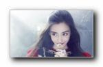 杨颖 angelababy《时尚芭莎》写真宽屏壁纸