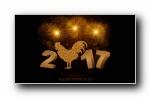 2017年新年宽屏壁纸