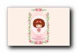 女王节女神节女生节可爱卡通宽屏壁纸