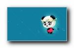 酷拉熊十二星座 可爱卡通宽屏壁纸