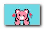 Luca熊可爱卡通宽屏壁纸