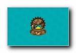 鸭嘴兽男孩 蒸汽朋克系列可爱卡通宽屏壁纸