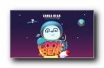 酷拉熊太空之旅 可爱卡通宽屏壁纸