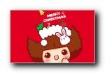 摩丝摩丝 2018圣诞节可爱卡通宽屏壁纸