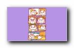 秋田君《小漫画》可爱卡通宽屏壁纸