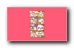 秋田君漫画可爱卡通宽屏壁纸