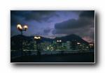 宽屏城市夜景摄影