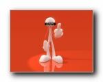 3D立体卡通/3D立体人物壁纸