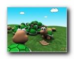 可爱立体3D卡通壁纸 (2)