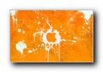 涂鸦风格苹果壁纸