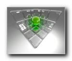 三维玻璃器皿设计
