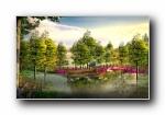 建筑园林 宽屏壁纸 (二)